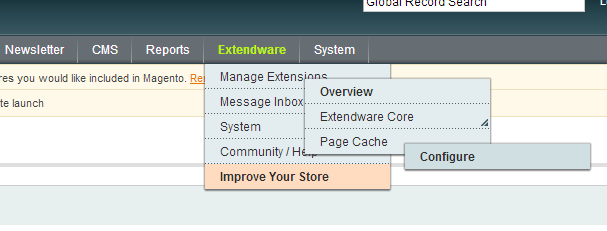 Enable Extendware Full Page Extension